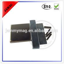 Electric motor neodymium magnet block
