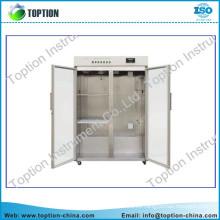 Los experimentos de cromatografía de laboratorio de alta calidad congelador / congelador de cofres con dos compartimentos