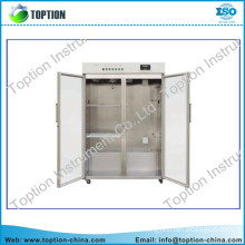 High quality lab chromatography experiments freezer/chest freezer with two compartments