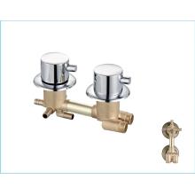 Manufacturer Supply  chrome mixer faucets brass durable  bathroom shower faucet