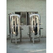 Caja de filtro de agua de acero inoxidable \ Sistema de filtro mecánico
