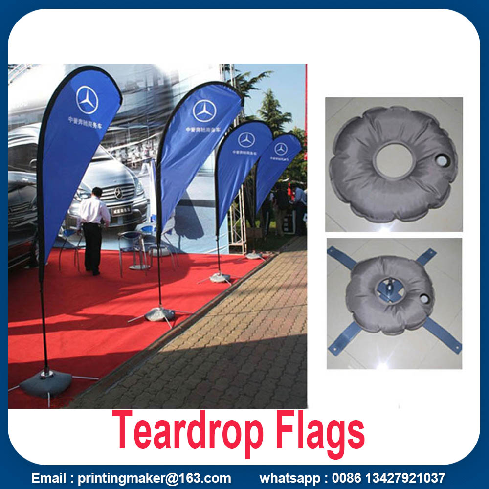 custom printed teardrop flags