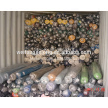 stock de tissu de vêtement de poly / coton pour le pantalon ou la chemise