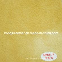 Couro Sipi Grosso para Sofá Tipo Europeu (Hongjiu-628 #)