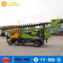 Expressway Guardrail Piling Rig Machine Crawler Vibrator Hammer Pile Driver