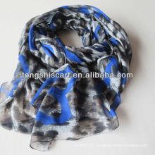 HD333-846 мода Leopard печати шарф