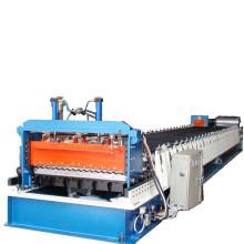 Rollo de lámina corrugada de alta resistencia que forma la máquina