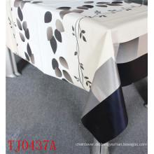 Neue Design LFGB PVC gedruckt Muster Tischdecke mit Spunlace Backing