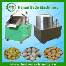 Système industriel d'épluchage et de découpage de pomme de terre multifonctionnel