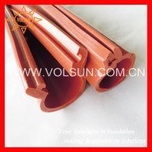 Silicon rubber high voltage line cover for bare wire