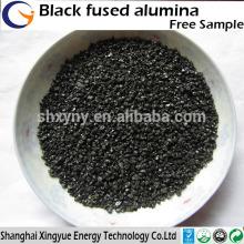 Fourniture d'usine de haute qualité réfractaire / abarsive noir fusion alumine / poudre d'alumine fondue noire
