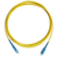 Muestras gratis !!!! SC a SC Fibra óptica Cable de remiendo Cable de fibra óptica de remiendo con precio de fábrica barato por metro