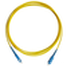 Échantillons gratuits !!!! Cordon de raccordement SC à fibre optique SC à fibre optique avec prix d'usine bon marché par mètre