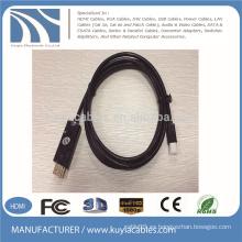 Mini DP a HDMI Cable macho a macho nickle a oro