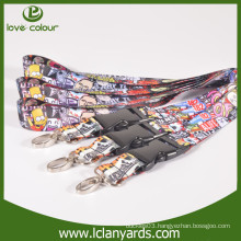 Special design polyester neck lanyard with your own logo