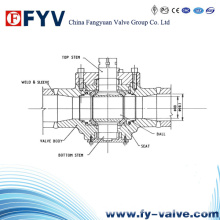High Pressure Martensitic Stainless Steel Ball Valve