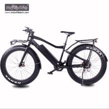 Bicicleta gorda motorizada barata barata de 48v 1000w, bicicletas eléctricas de la energía de la impulsión media 8fun hechas en China