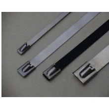 Uncoated Ball Lock/Roller Ball Stainless Steel Cable Ties