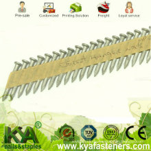 34 Degree Galvanized Paper Tape Collated Nails