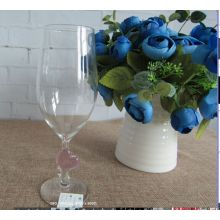Borosilicate Glass Goblet Cup for Wedding Home Decoration