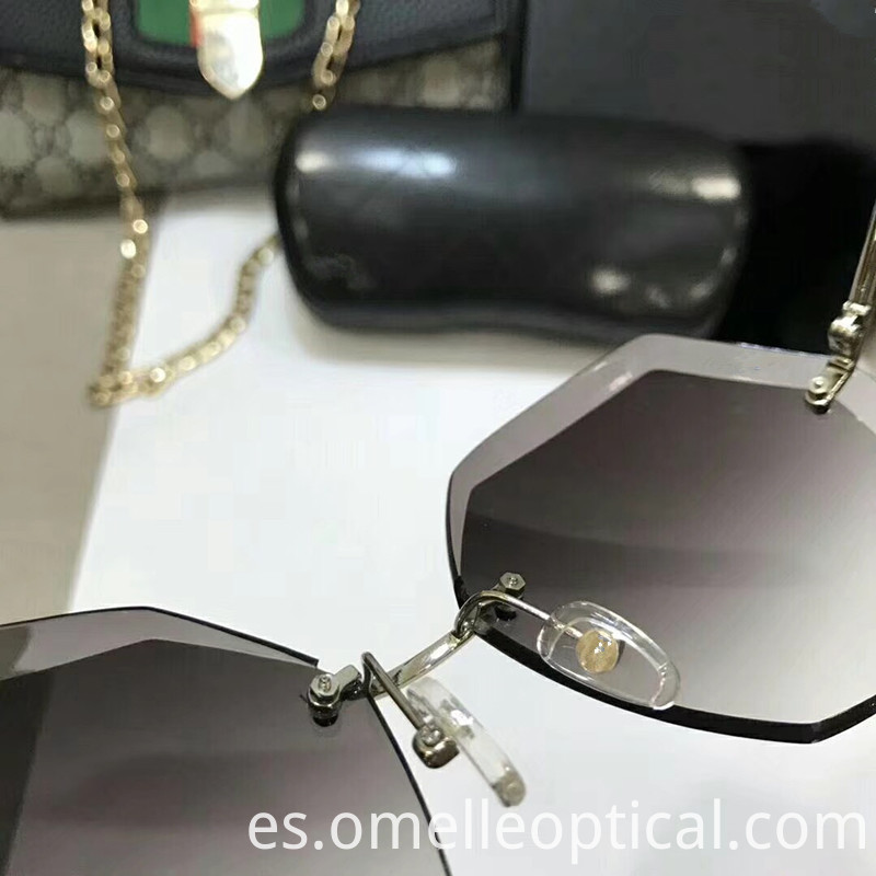 Rimless Sunglass Lenses