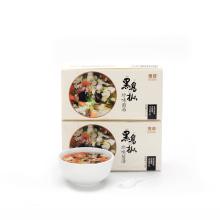 Sopa instantánea deliciosa instantánea con hongos liofilizados