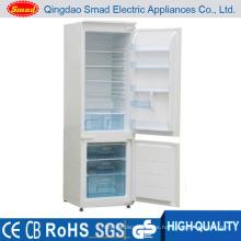 Electrodomésticos refrigerador de descongelación de doble puerta precio barato