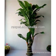 2015 Yiwu venden al por mayor el árbol de plátano artificial para la decoración