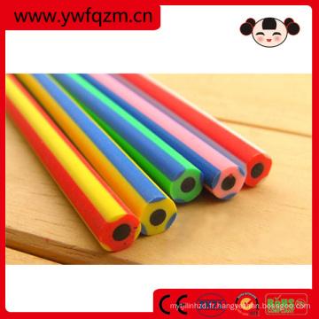 Gomme à crayon flexible, crayon fantaisie, crayon souple