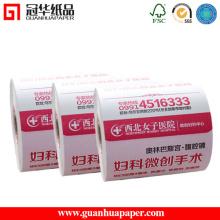 MSDS Gute Qualität Soem-Registrierkasse Thermisches Papier