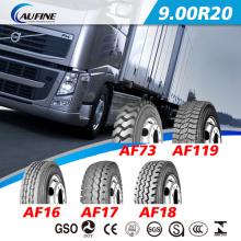 Alta calidad Radial camión neumático de TBR, neumático 9. 00R20 con ECE punto alcance del autobús