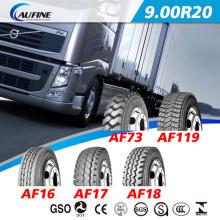 Alta qualidade Radial pneus usados de caminhão, ônibus pneus 9.00r20 com alcance DOT ECE