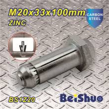High Quality Anchor Bolts Fastener M20X33X100mm
