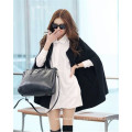 New Fashion Womens Winter Warm Wool Poncho Jacket Cape Cloak