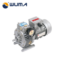 Aluminum&Iron casting speed motor variator with speed reducer