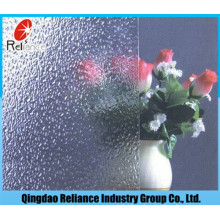 3mm/ 3.5mm/4mm/5mm/6mm Clear Pattern Glass / Clear Figure Glass / Clear Rolled Glass / Nashiji Pattern Glass / Karatachi Pattern Glass /Flora Pattern Glass