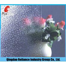 Ясно Алмазный Рисунок стекло 3мм/3,5 мм/4 мм/4,5 мм/5 мм/5.5 мм/6 мм /Алмаз Паттен стекло /прозрачное с узором стекло/хорошее quanlity Рисунок стекла