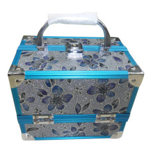 fashion jewelry box with pvc material