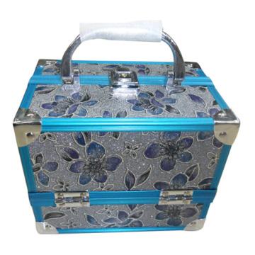 caja de joyería de moda con material de pvc