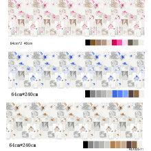 Microfibre de polyester tissée chaude de drap de vente