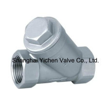 Stainless Steel Thread Y Strainer Valve (GL11W)