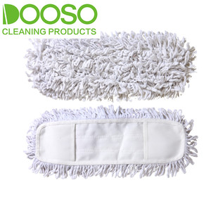 Washable Wide Cotton Flat Mop Refill DS-R211