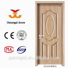 Porta de madeira do frame de madeira europeu clássico do estilo 45mm