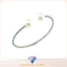 De Buena Calidad Oro de plata CZ 925 brazalete de plata (G41273)