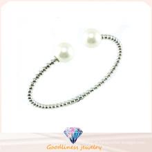 De Boa Qualidade Rose Gold CZ 925 Silver Bangle (G41273)