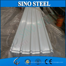 Materiales de construcción Color Corrugated Roofing Steel Sheet