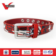 2014 Cute Cartoon Kids Printed PU Belts