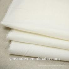 Großhandel Soem benutzerdefinierte plain weißen Baumwollstoff für Hotel und Heimtextilien