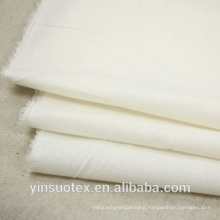 wholesale OEM custom plain white cotton fabric for hotel and home textile