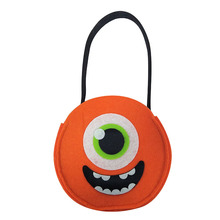 Halloween eyeballs pattern candy totes bags